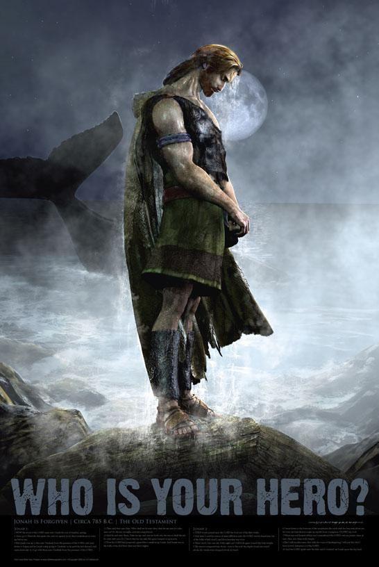 Christian Bible Hero Poster - 36 -