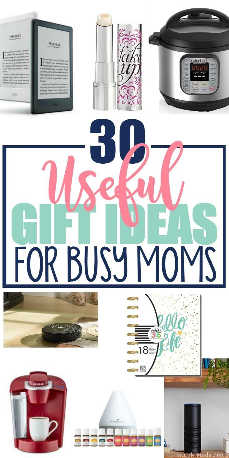 You Will Find At Least One Or Many Items On This List That The Busy Mom In Your Life Love Here Are 30 Useful Holiday Gift Ideas For