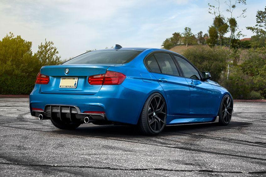 $1,075 50- ENLAES BMW F30 3 SERIES REAR DIFFUSER - CARBON