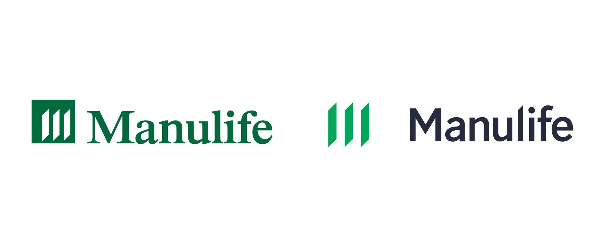 New Logo For Manulife Logos Logo Design Company Logo