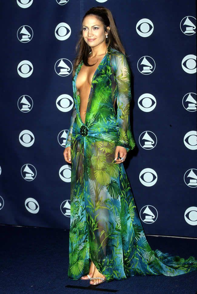 10 Most Scandalous Dresses in #RedCarpet History  #celebritystyle #topten #JenniferLopez