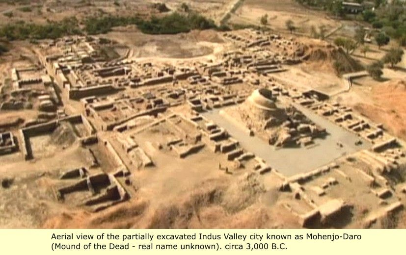 The Indus Valley: Mohenjo-daro, Harappa - Ancient Man and His ...