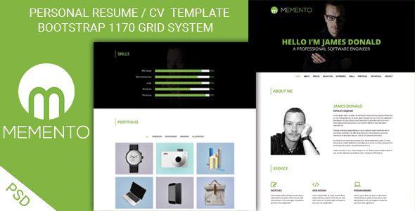 personal portfolio template