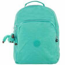 9f9ffd7fe Mochila Kipling verde água mt linda!!   utiles escolares em 2019 ...