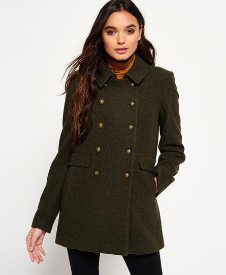 f71e94a6af0 ... for sale. Womens - Military Pea Coat in Khaki