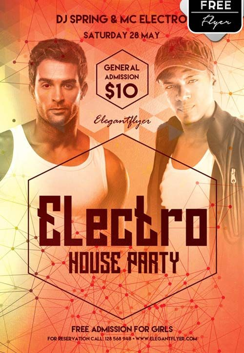 Electro house party free psd flyer template httpfreepsdflyer electro house party free psd flyer template httpfreepsdflyer pronofoot35fo Gallery