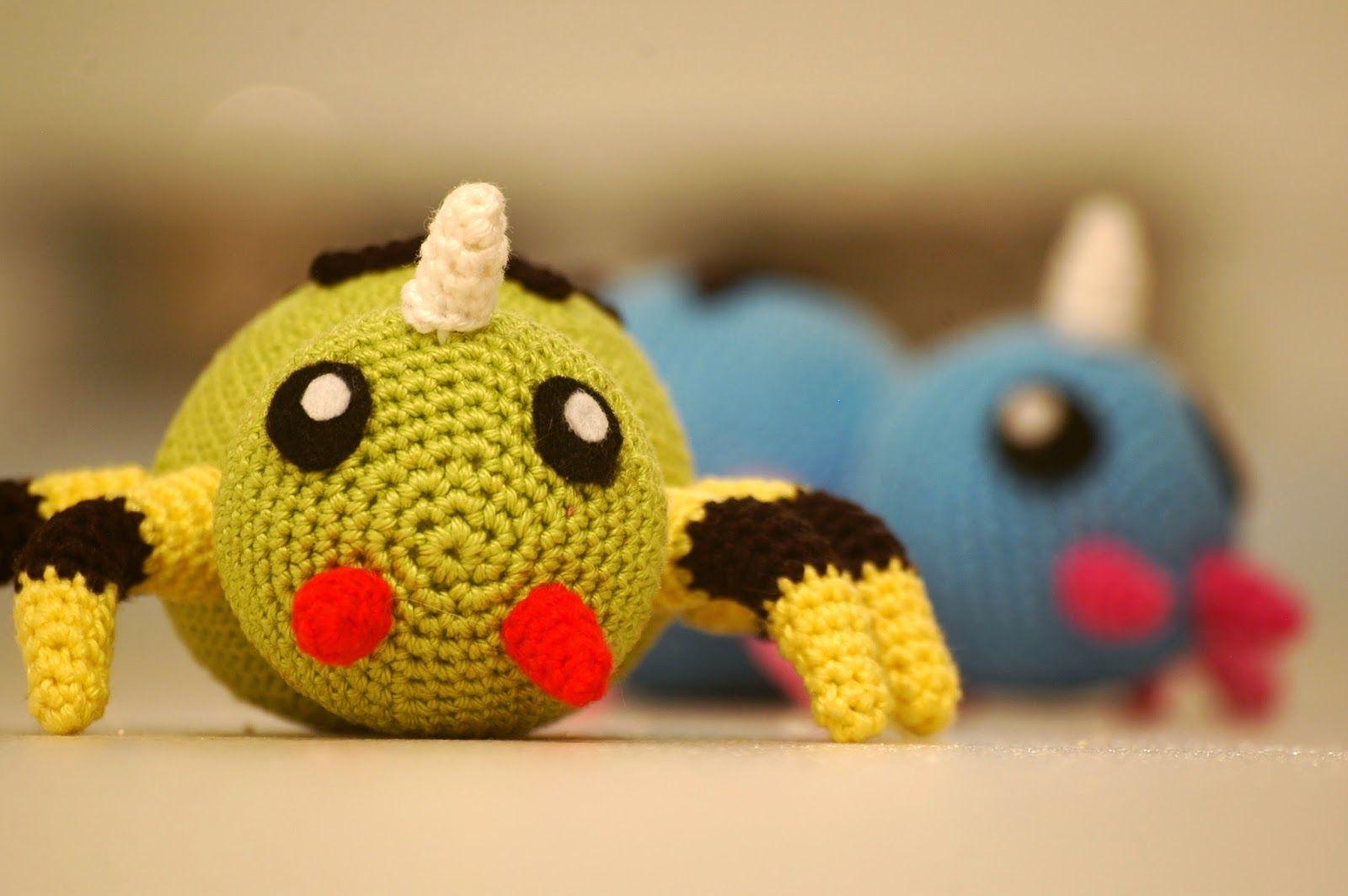 Sabrina\'s Crochet: Spinarak (Pokemon)   Crafts I Want to Do   Pinterest