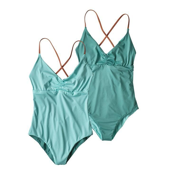 9fa9ee822f Patagonia Women's Reversible One-Piece Kupala Swimsuit (Bend Blue ...