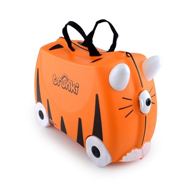 0e2a96b557d4 Frank the Fire Truck Trunki - Ride on luggage for kids