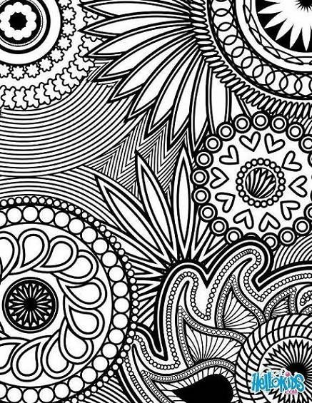 FREE Adult Coloring Pages - Happiness is Homemade | 565x437
