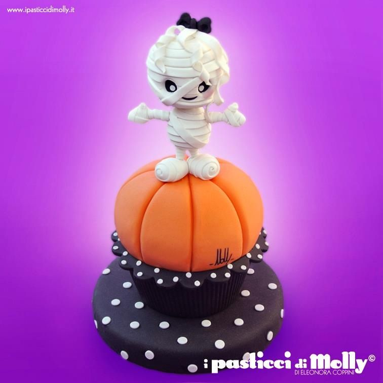 Cupcake gigante Halloween