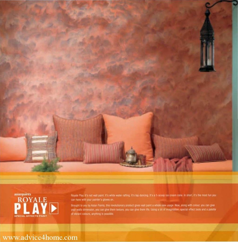 Asian paints royale play special effect msnewshaheen Pinterest