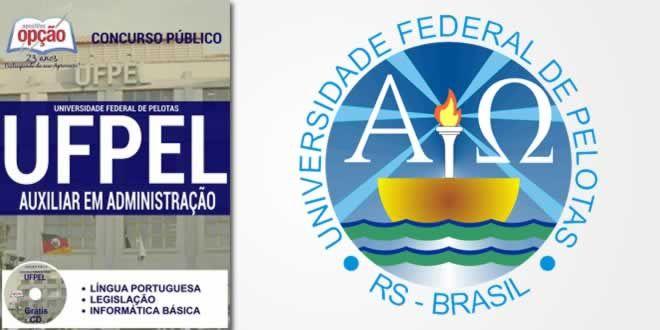 Acesse Agora Apostila Concurso Ufpel Auxiliar Administrativo