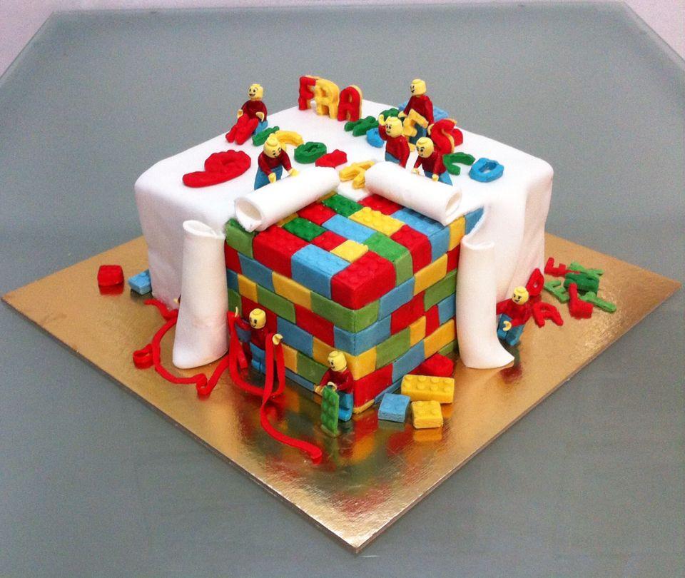 Torta Pacco Regalo Lego Le Torte Di Camilla Jesholt