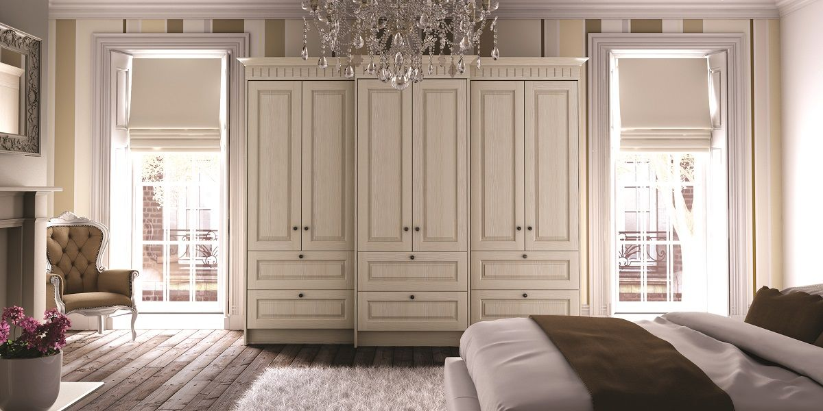 Fitted Bedroom Wardrobes French Style Vintage Shabby Chic Made To Measure Wardrobes Fitted Bedroom Furniture Fitted Bedrooms Bedroom Built In Wardrobe