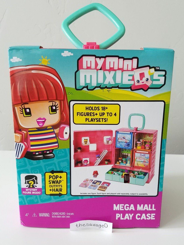 My Mini Mixieq s Mega Mall Play Case New mixieqs Ultra Rare