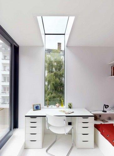Innenarchitektur Brenner Düsseldorf raffiniert sind die fensterschlitze in das dach geschnitte