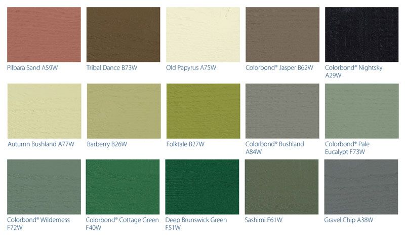 Wattyl Interior Paint Colour Chart W Wall Decal