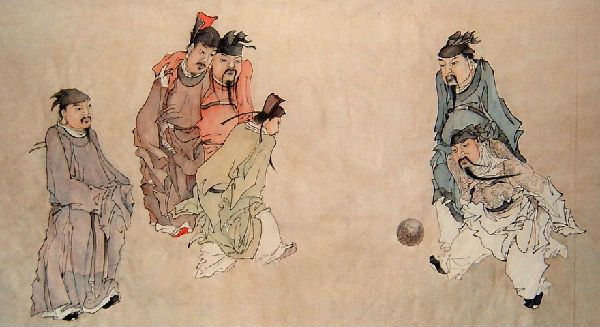 Cuju - Ancient Chinese Soccer | Ancient chinese, Ancient, Chinese culture