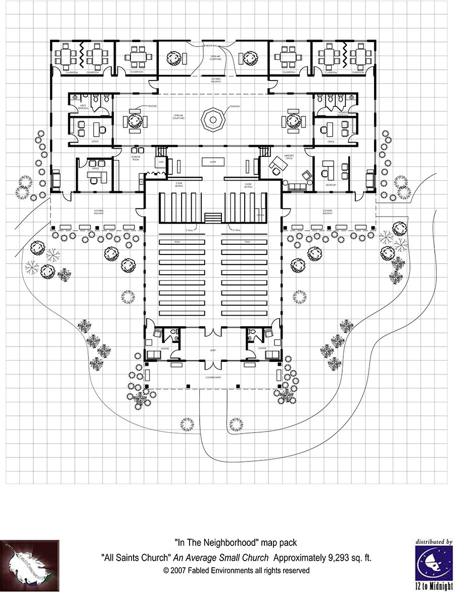 Church Building Design Ideas church building Modern Floorplans Neighborhood Church Fabled Environments Modern Floorplansdrivethrurpgcom Church Buildingbuilding Ideasshadowruncyberpunkphysical