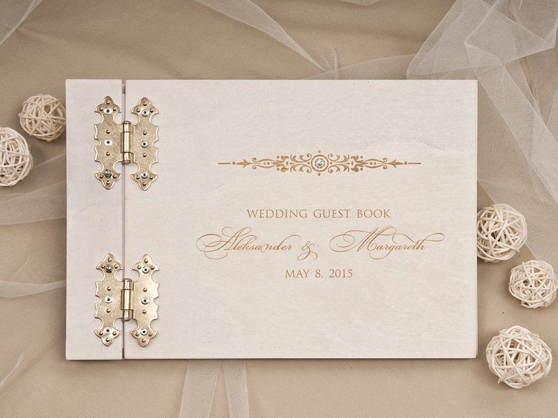 25 Guest Books That Always Look Beautiful At Weddings Wedding Guest Book Wood Guest Book Wedding Guest Book