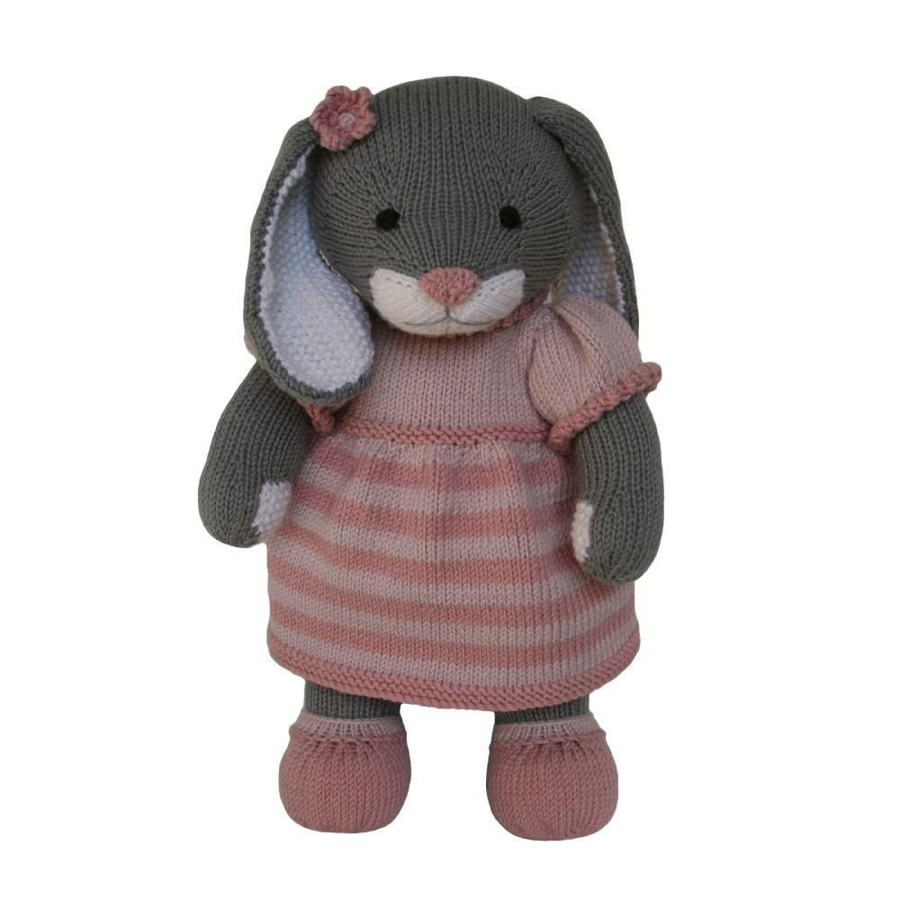 This adorable bunny pattern is part of the Knitables 'Knit a Teddy' collection…