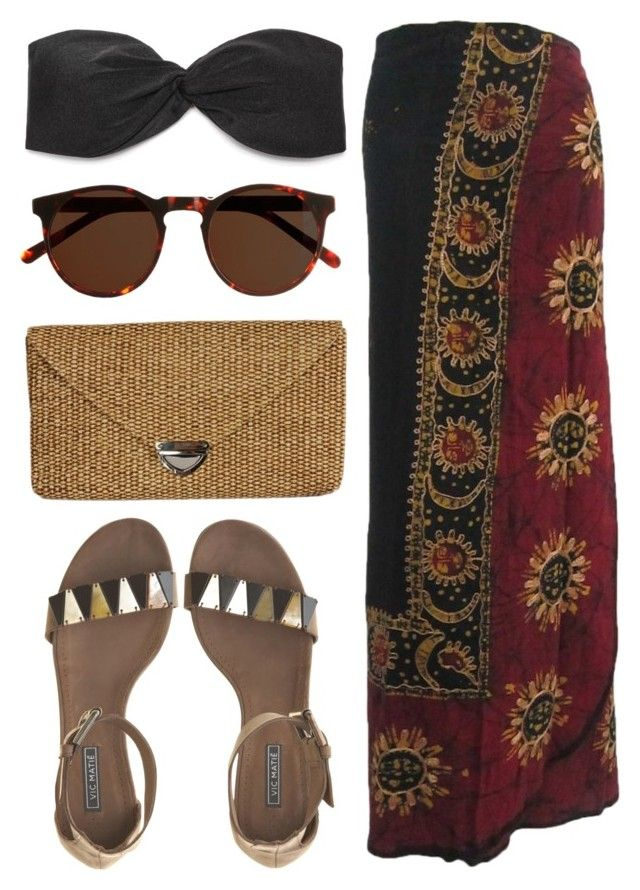 """""""Beach"""" by jellytime ❤ liked on Polyvore featuring J.Crew, Hat Attack, Vic Matié, women's clothing, women, female, woman, misses and juniors"""
