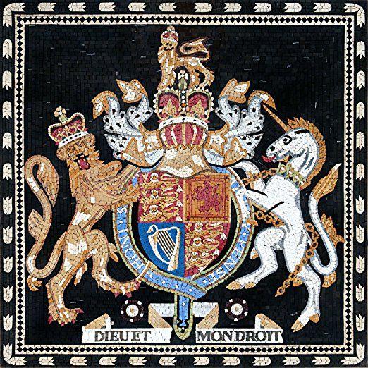 Custom Mosaics - Royal Coat of Arms