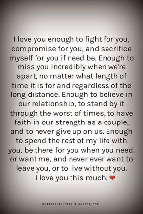 Quotes you i meaningful love 170+ Deep