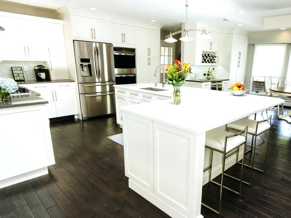 l shaped kitchen with island if your l shaped kitchen could use a new look get inspired on kitchen island ideas v shape id=31172