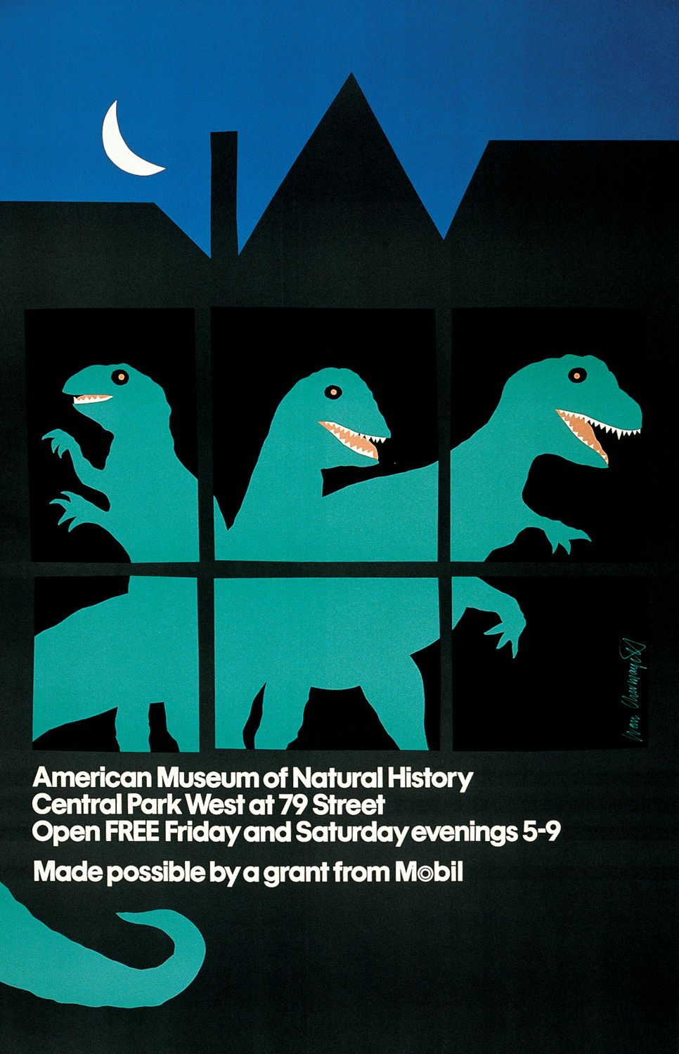 Poster design nature - Poster By Ivan Chermayeff For The American Museum Of Natural History