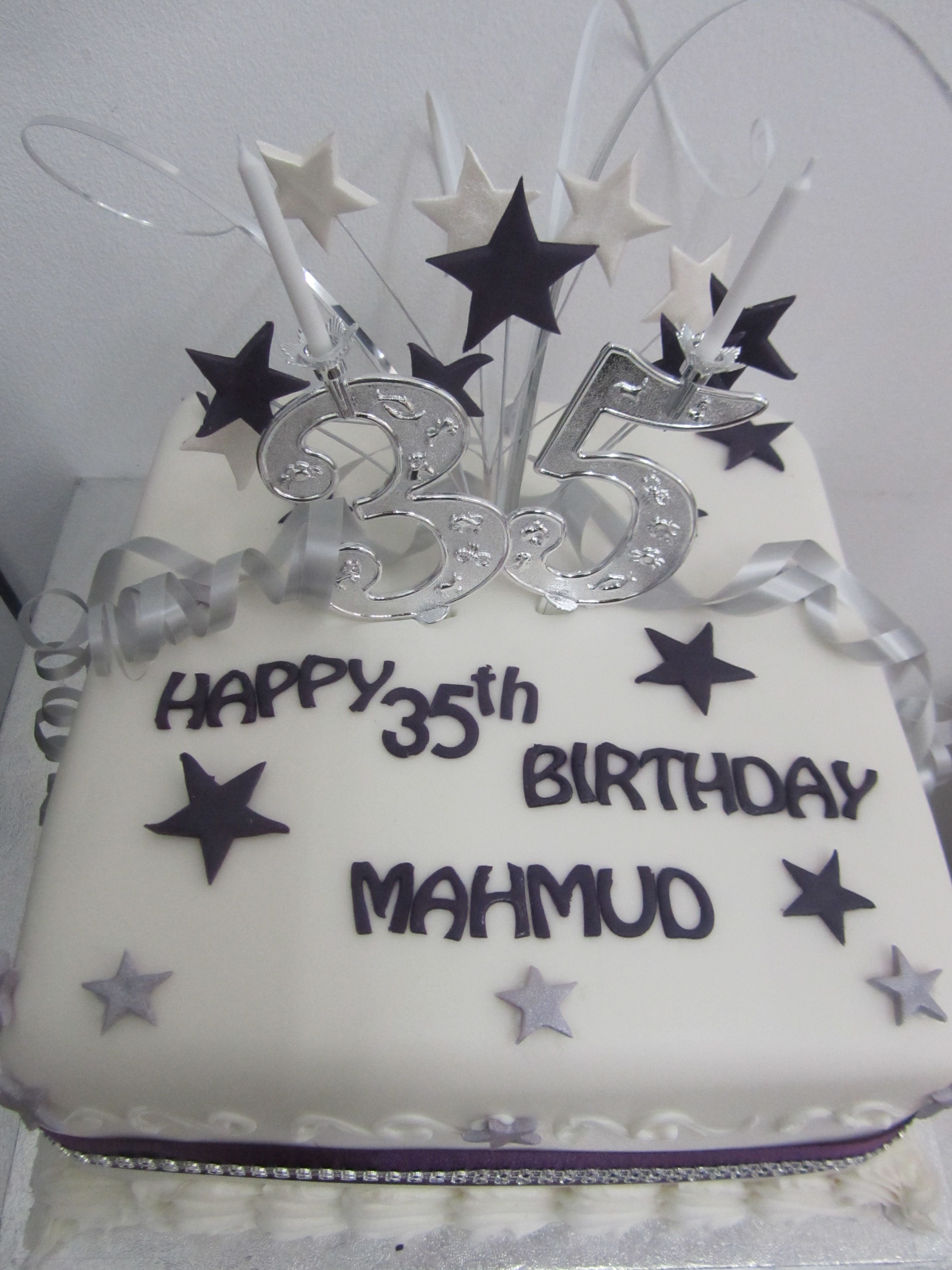 Mahums 35th Birthday Cake Adult Male Cakes Pinterest Cake