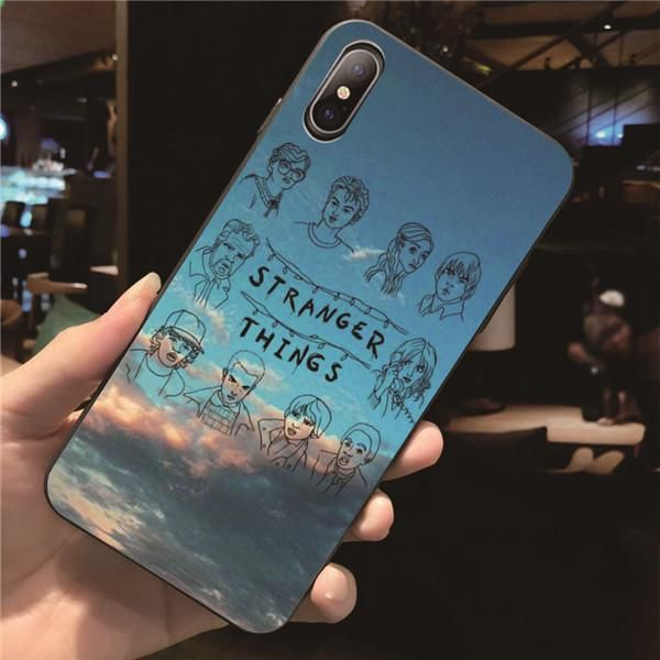 iphone x coque stranger things