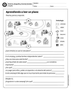 Aprendiendo A Leer Un Plano Ciencias Sociales Socialismo Ciencias Sociales Primaria