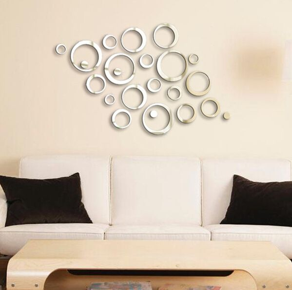 Decoration Mirror Wall Stickers - wall decor