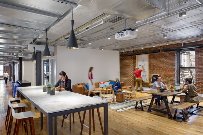 office tour dropbox new york city offices pinterest city