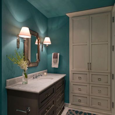 teal bathroom design ideas, pictures, remodel and decor
