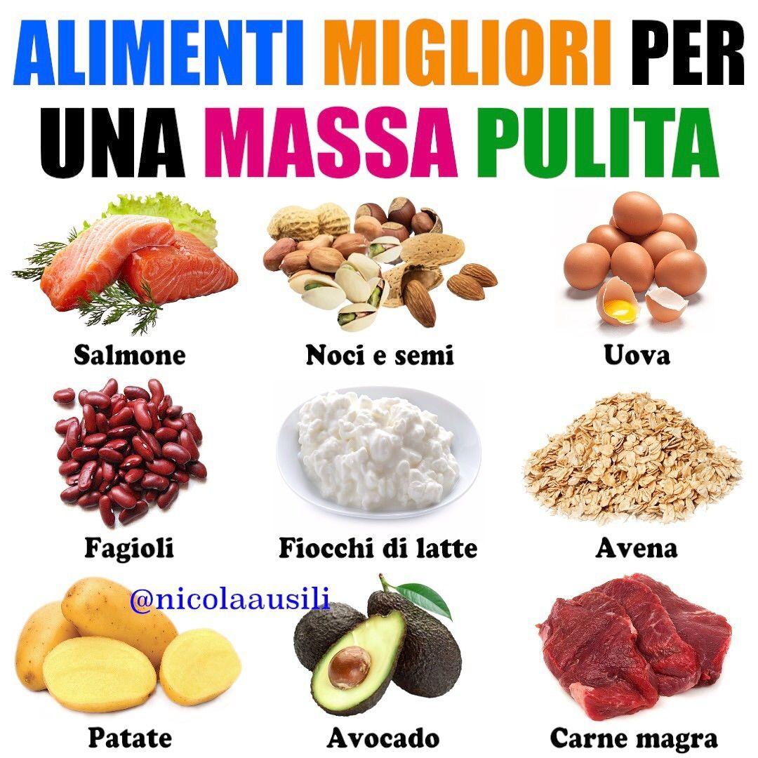 dieta per l aumento di massa muscolare