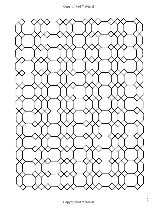 Amazon.com: Infinite Designs Coloring Book (Dover Design