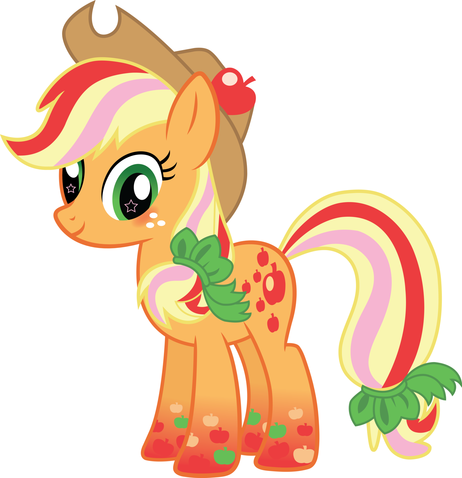 5594 applejack my little - photo #21