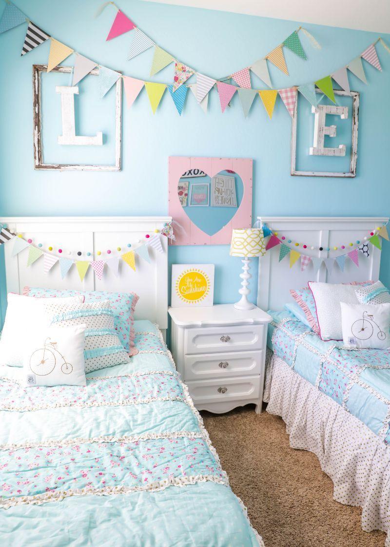 20 Beautiful Kids Room Makeover Shared Girls Bedroom Children