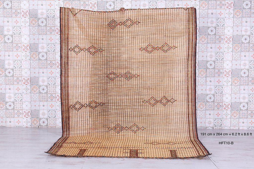 Tuareg Mat (6.2 ft x 8.6 ft), Large Tuareg Mat (7.7ft x 13