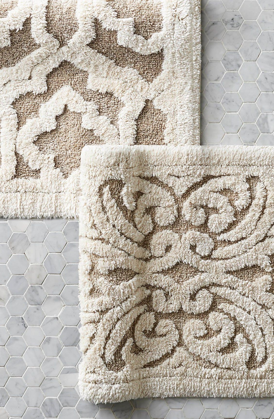 Pin By Frontgate On Myhouse Bath Rug Plush Bath Rugs Classy Rugs