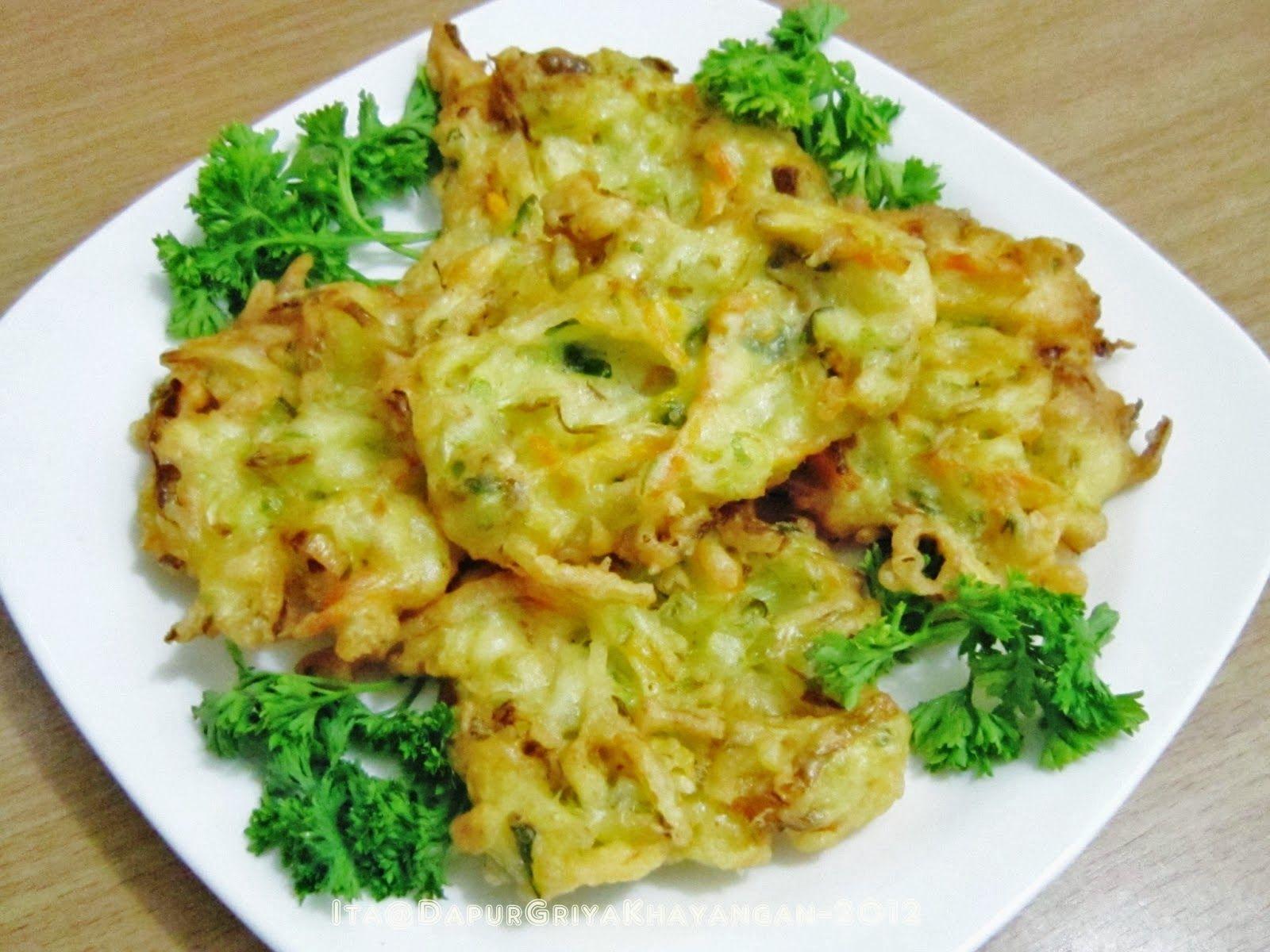 Resep Membuat Gorengan Bakwan Kumpulan Resep Masakan Ibu Indonesian Food Cauliflower Chicken