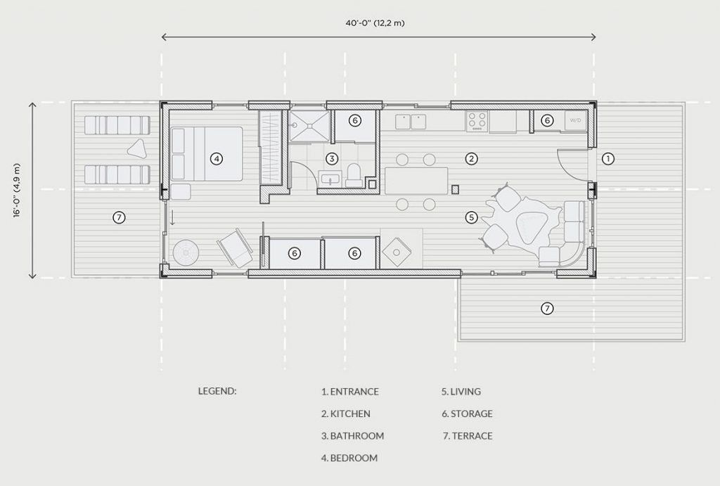 Photo 14 Of 22 In 11 Shipping Container Home Floor Plans That Container House Plans Prefab Shipping Container Homes Shipping Container House Plans