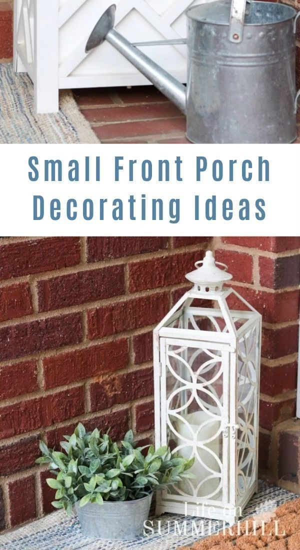 How to Decorate a Small Porch,  #Decorate #flowergardenideasinfrontofhousevideos #Porch #smal... #smallporchdecorating
