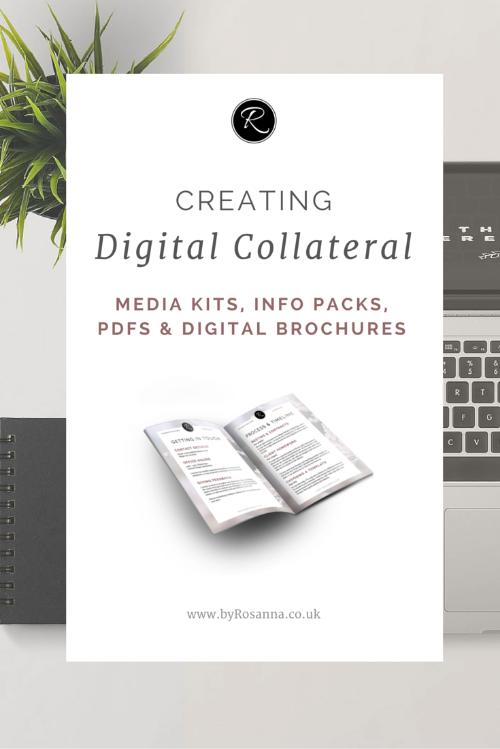 Creating Digital Documents (Media Kits, PDFs & Info Packs)