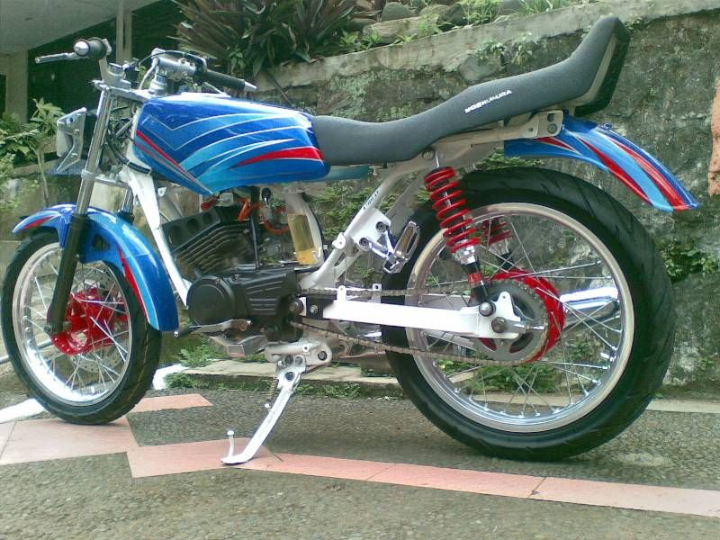 referensi motor yamaha rx king modif