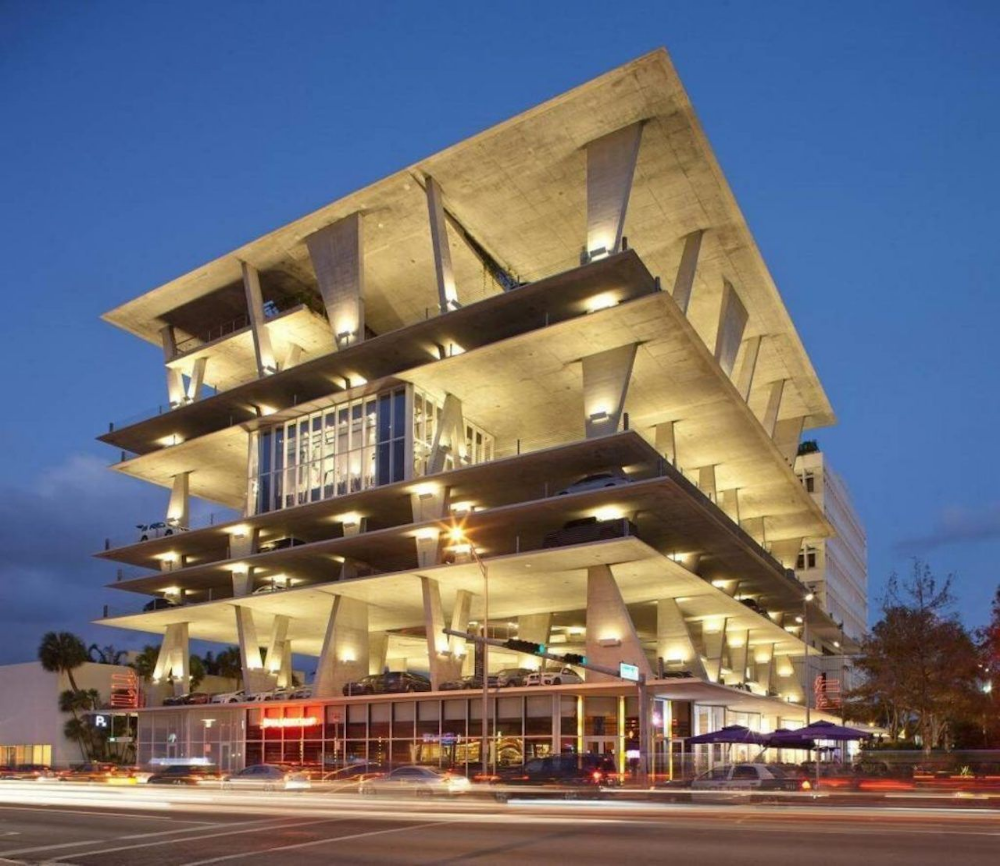 These Are The 10 Coolest Parking Garages In America