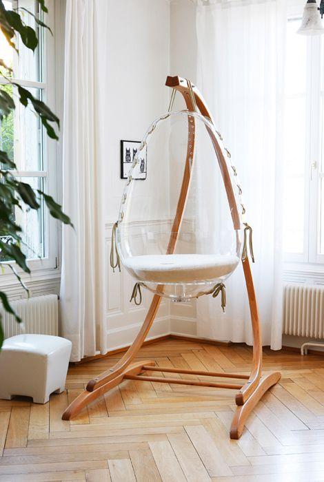 Berceau oeuf suspendu [Origin] | chambre d\'enfant | Mobilier bébé ...